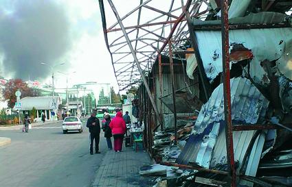 Donetsk, Ukraina. Foto: Pelle Sunvisson